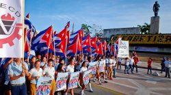 Convocatoria al Primero de Mayo en Villa Clara
