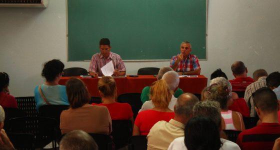 Pleno de Trabajadores en la Facultad de Ciencias Agropecuarias (FCA)