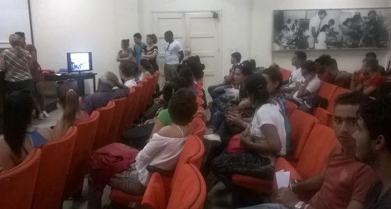 Integran estudiantes de la Facultad de Ciencias Económicas las filas de la FEU