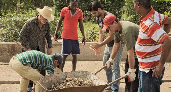 Intenso trabajo de recuperación en la Facultad de Ciencias Agropecuarias