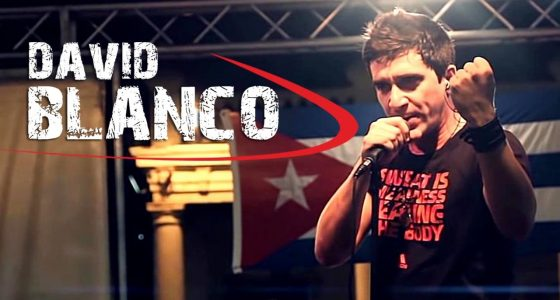 David Blanco en concierto