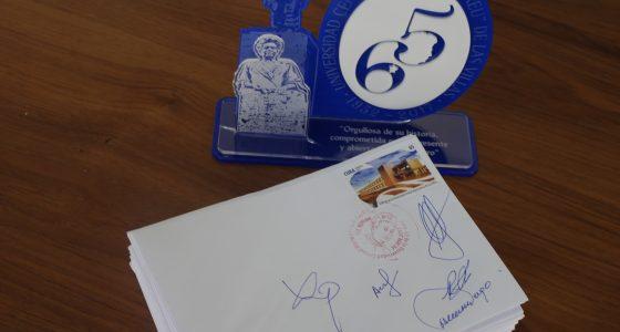 Cancelación Especial de Sello por el Aniversario 65 de la UCLV