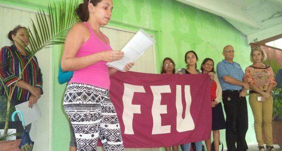 """Abanderamiento del 45 Destacamento Pedagógico """"Manuel Ascunce"""""""