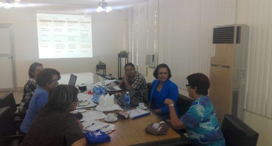 Visitan directivos de la Universidad de Managua la UCLV