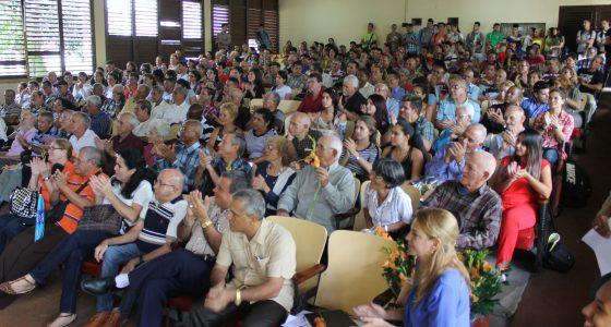 Celebra Ciencias Agropecuarias multitudinario Claustro del 65 Aniversario