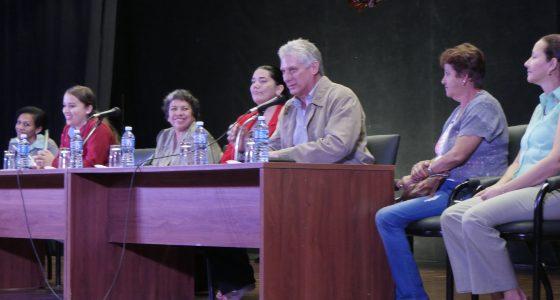 """Miguel Díaz-Canel Bermúdez: """"vivimos un proceso electoral histórico"""""""