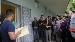 Igualmente abrió sus puertas el laboratorio sede del Grupo de Trabajo Científico Estudiantil de Prensa de la carrera de Periodismo (Foto: Dayana Darias)