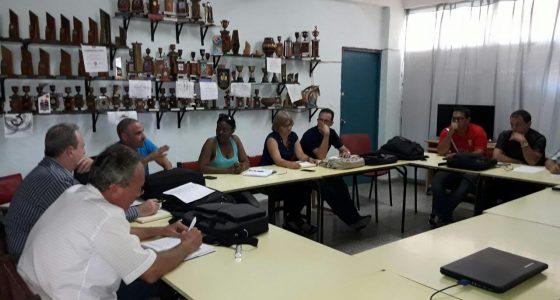 Delegación de Empresa de la Informática y las Comunicaciones del Ministerio de la Agricultura visita la FIE