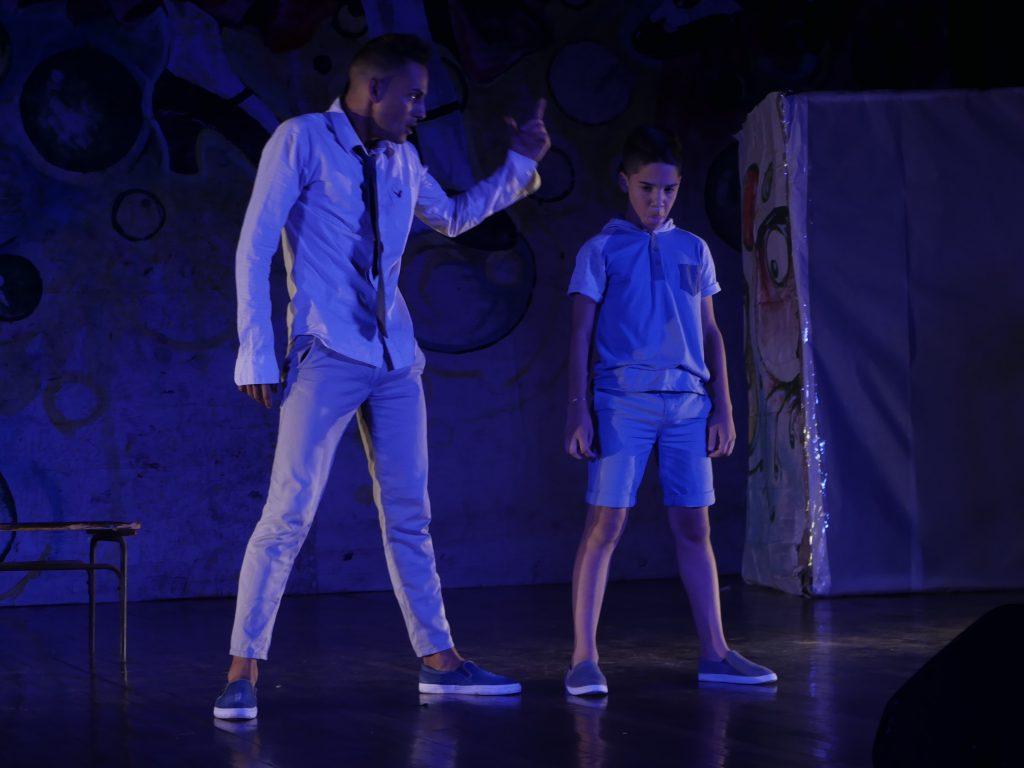 Aclamada la actuación de Jorge Daniel Vidal García, estudiante de la escuela secundaria José Martí, de Santa Clara