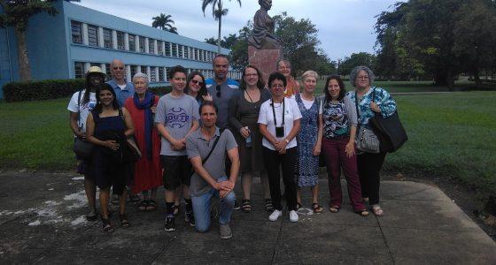 Visita la UCLV delegación de la Universidad de Indiana