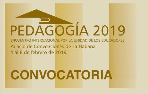 Convocatoria al Congreso Internacional Pedagogía 2019