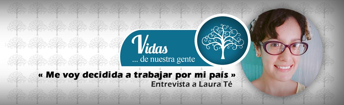 Laura Tatiana: «Me voy decidida a trabajar por mi país»