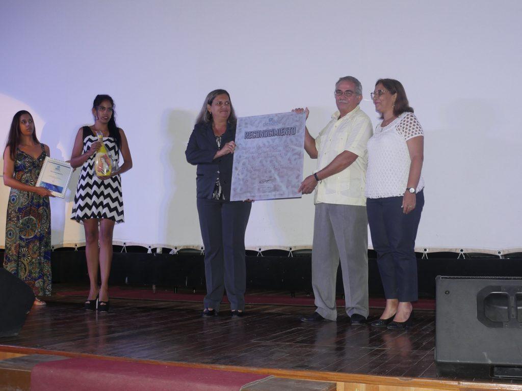 Reconocimiento de DESOF Villa Clara