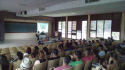 Realiza Licenciatura en Química su debate constitucional
