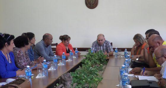 El vicepresidente de los Consejos de Estado y de Ministros, Doctor Roberto Morales Ojeda visitó la UCLV