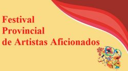 Programa de competencias del Festival Provincial de Artistas Aficionados