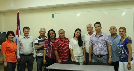 Participantes en la defensa del Diplomado SIAL del proyecto PIAL