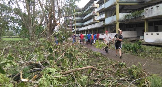 Las huellas de Irma en la UCLV