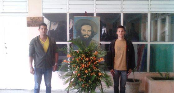 Realizado acto homenaje a Camilo Cienfuegos