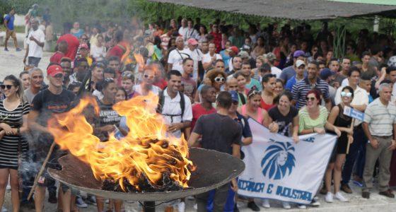 Llegó el deporte a la UCLV: inauguran 52 edición de los Juegos Criollos