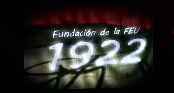 Felicitación por el aniversario 95 de la FEU