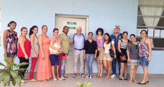 Profesor italiano impartió postgrado al Departamento de Sociología