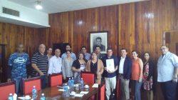Visita Delegación de Universidad Mexicana nuestra UCLV