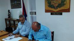 Firman nuevo convenio de colaboración la UCLV y la APPP de Villa Clara