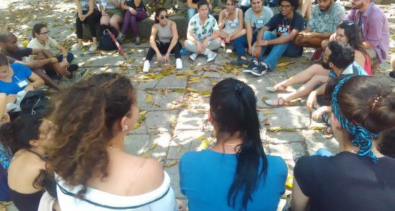 Dialogaron estudiantes de UCLV y UH sobre comunicación