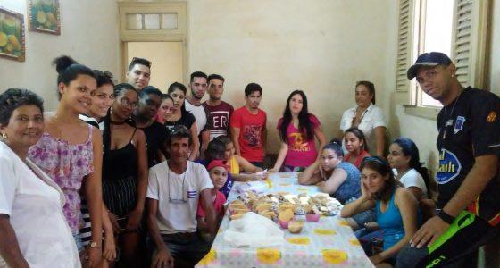 Realizada actividad comunitaria en la casa de niños sin amparo filial #3 de Santa Clara