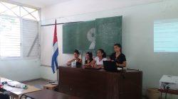 Realizan 9º Congreso de la FEU en la Facultad de Construcciones