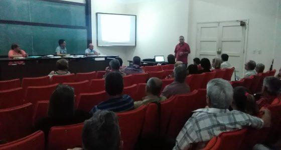 Debates sobre ciencia e investigación en UCLV