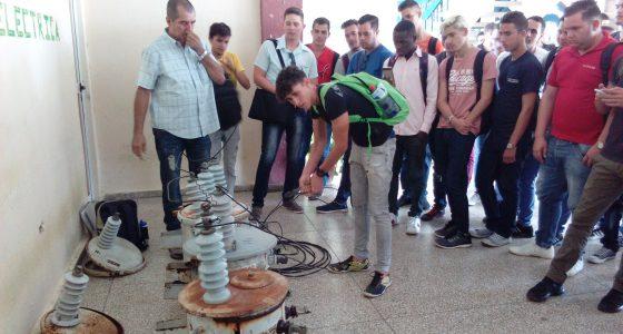Desarrollada la electroferia en la Facultad de Ingeniería Eléctrica