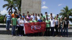 Abanderan delegación villaclareña al #9noCongresoFEU
