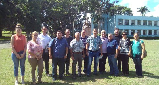 Visita delegación brasileña nuestra Universidad