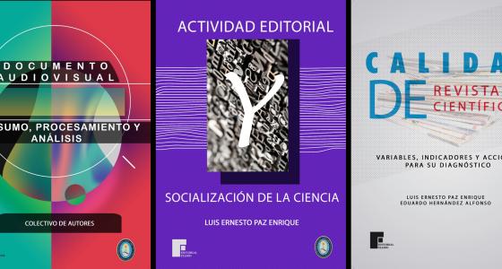 Nuevos títulos de la Editorial Universitaria Samuel Feijóo