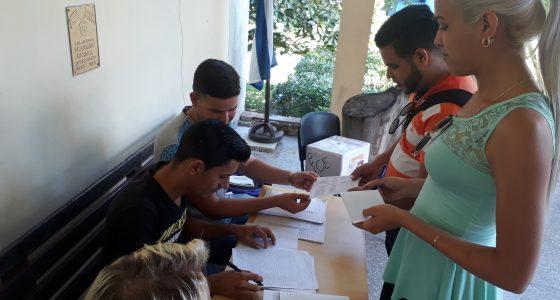 Elecciones Centrales de la FEU en la FCE