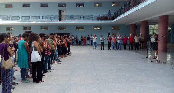 Acto de conmemoración por el natalicio de Marta Abreu en la UCLV