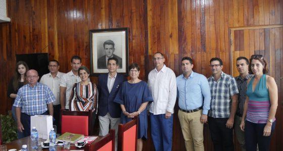 Visita Embajadora de Bélgica nuestra Universidad