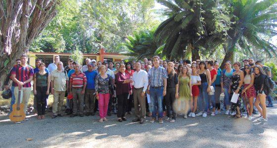Festeja su 15 Aniversario el Centro de Estudios Jardín Botánico de la UCLV