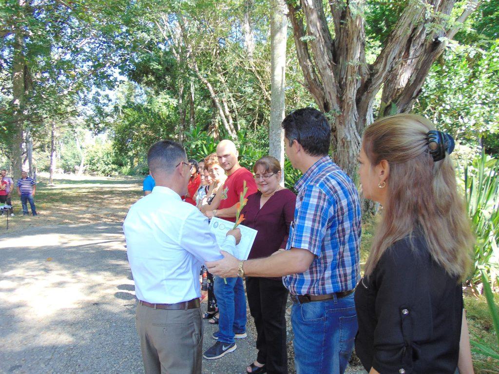 El CEJB entregó reconocimientos a Instituciones que han contribuido a los resultados del centro