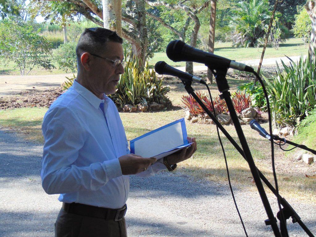 El Dr. C. Idelfonso Castañeda Noa, Director del CEJB, hizo un recuento de estos 15 años de trabajo, resultados y desafíos