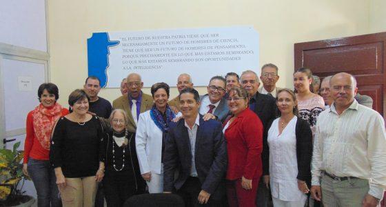 Inaugurada Filial de la Academia de Ciencias de Cuba en Villa Clara