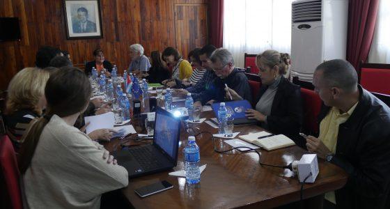 Visita la UCLV Delegación de la Unión Europea