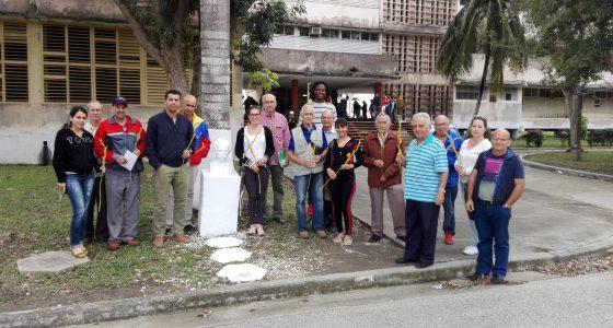 Realizado mitin en la FIE en homenaje al aniversario 166 del natalicio de José Martí