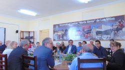 Visita nuestra UCLV delegación de Universidad alemana