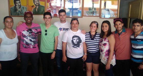 De regreso representantes de UCLV en Congreso Latinoamericano y Caribeño de Estudiantes