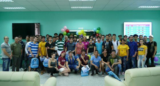 VI Copa de Programación UCLV: globos al aire desde el centro de Cuba