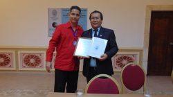 Recibe el Dr. Genner Villarreal condición de Profesor Invitado de la UCLV