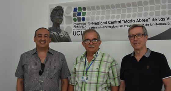 Dr. C. Rafael Bello juntos a invitados a la II Conferencia Internacional de Procesamiento de la Información